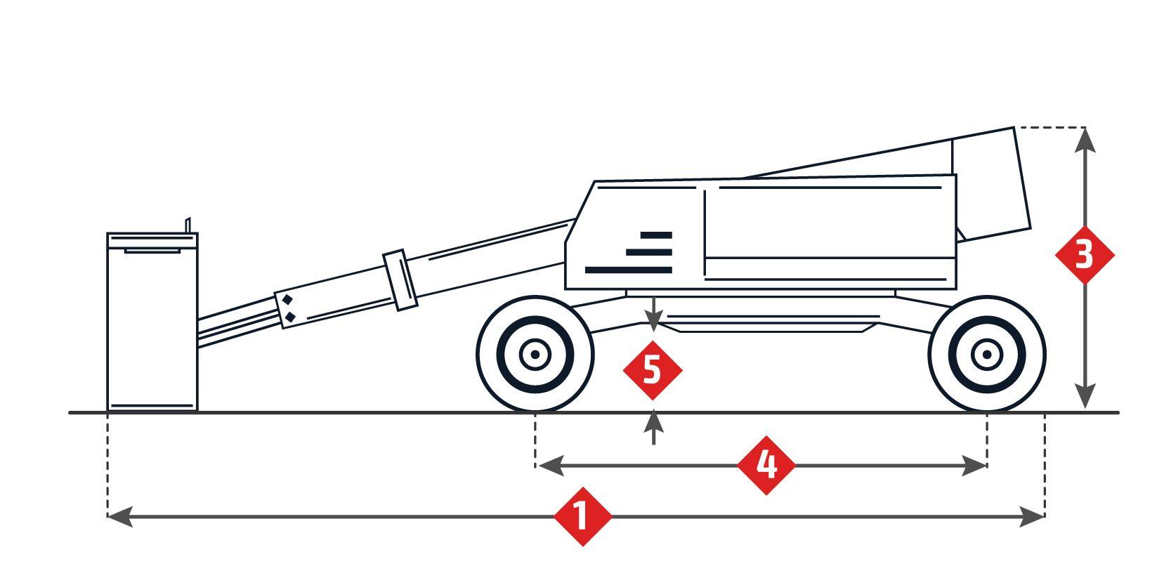 Plataformas articuladas diesel 16 Metros Haulotte HA16 PX