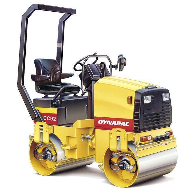 Rodillo Compactador Dynapac CC92