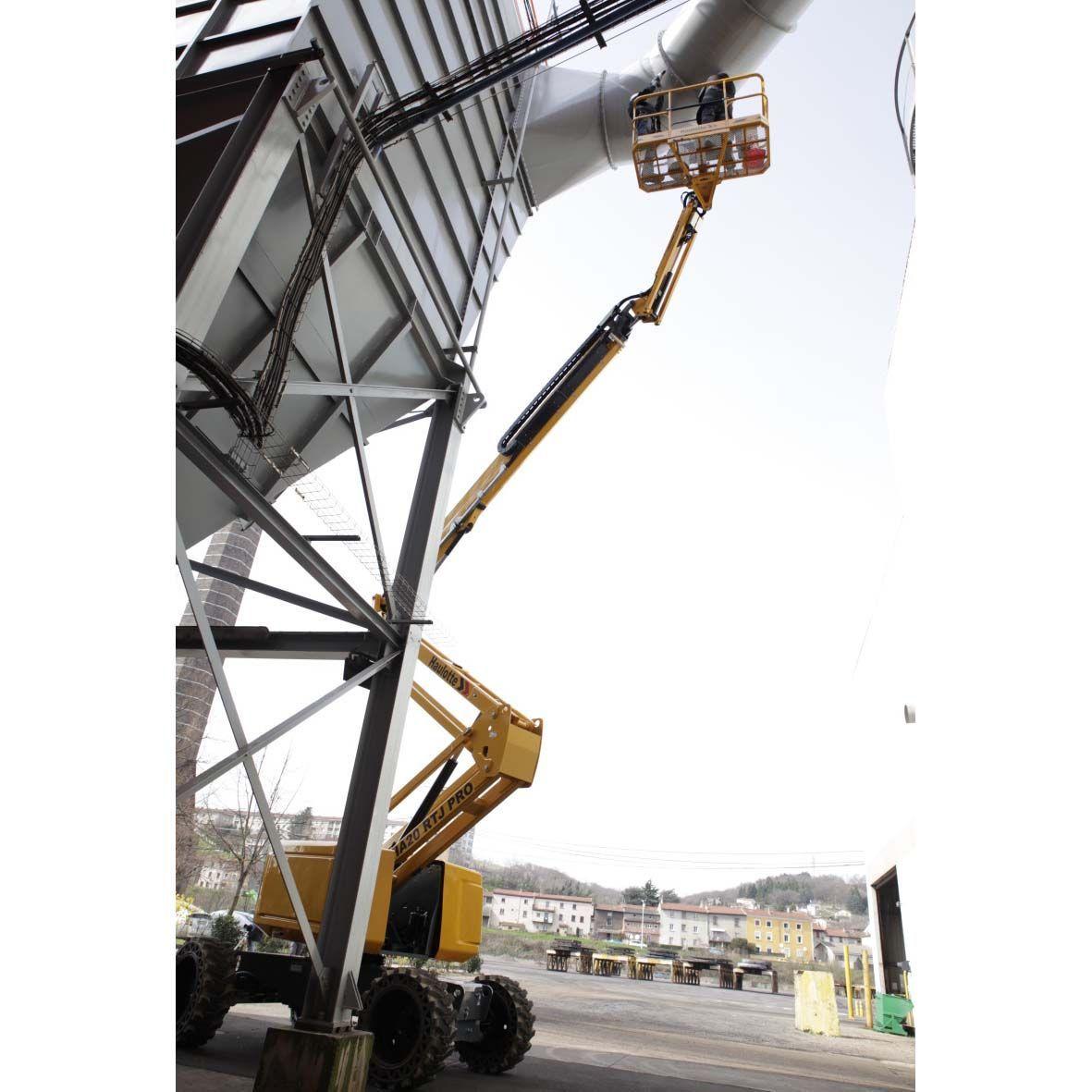 Alquiler Plataformas Articuladas Diesel 20