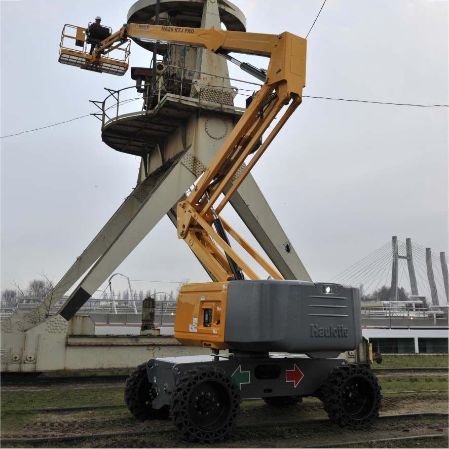 Alquiler Plataformas Articuladas Diesel 26 Metros HA26 RTJ PRO
